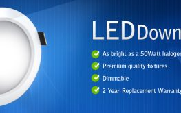 LED Downlight Installations